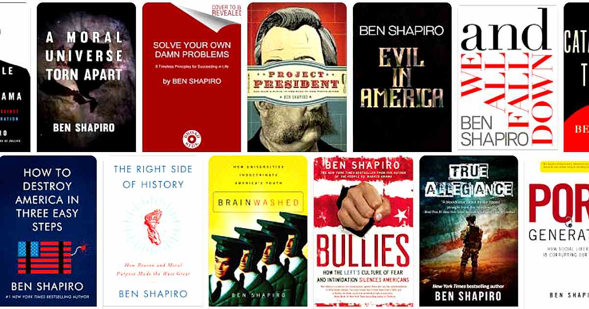 ben shapiro books - conservative websites